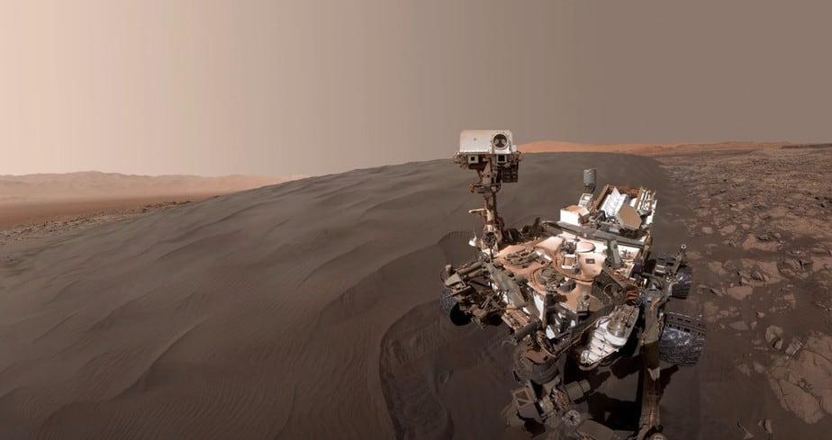 video 4K Pemandangan Mars
