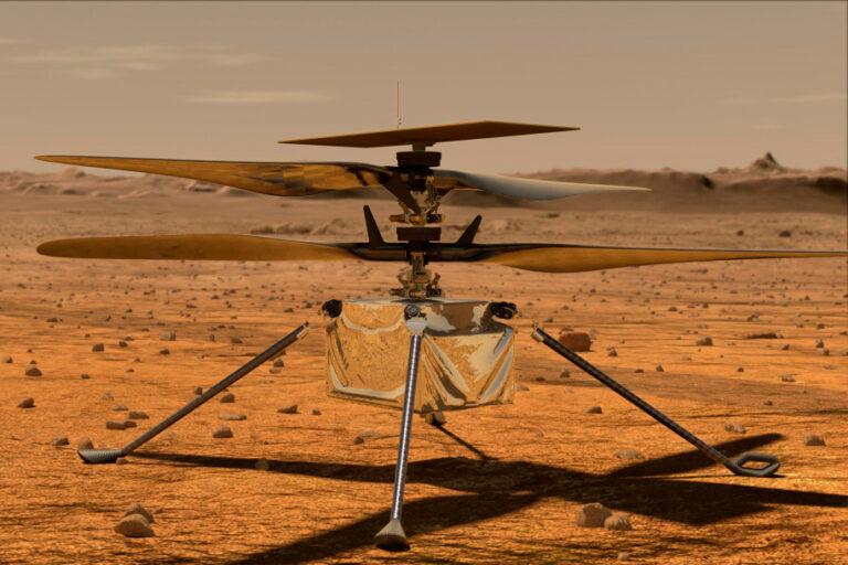 NASA Ungkap Misi Utama Robot Helikopter Mars