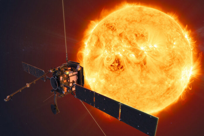 Gambar Permukaan Matahari NASA