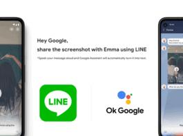 line google assistant