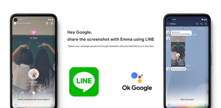 Berbagi Foto di Line Makin Seru dengan Google Assistant