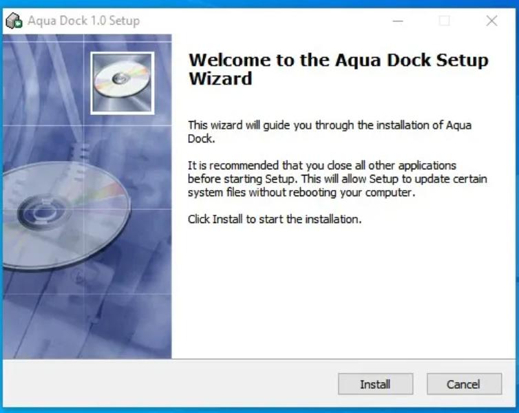 App Dock Windows 10