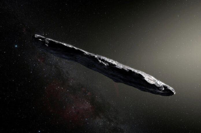 Asteroid Antarbintang Oumuamua