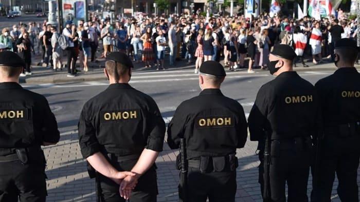 Masyarakat Protes Pemilu, Belarusia Blokir Internet dan Twitter