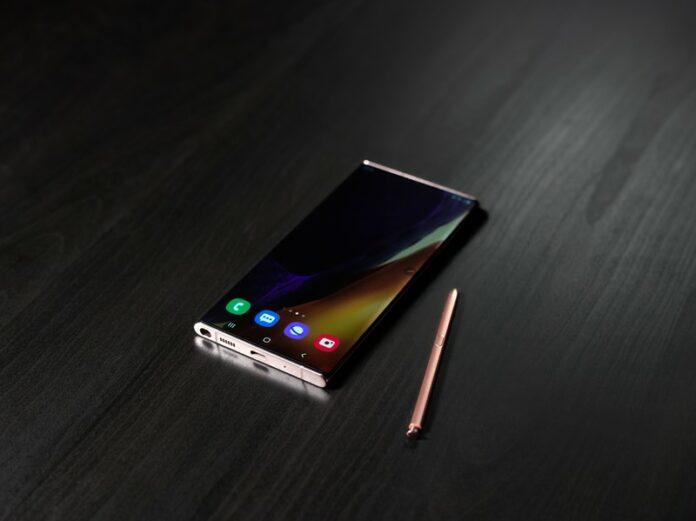Warna Mystic Blue Samsung Galaxy Note20