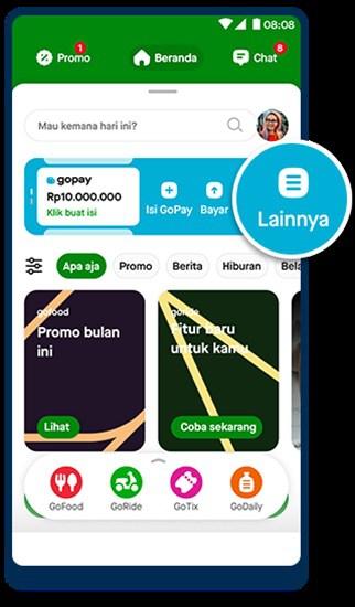 cara Tarik Tunai GoPay di ATM BCA