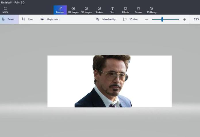 Cara Hapus Background Foto Paint 3D