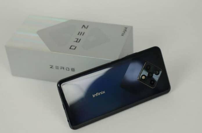 Infinix Zero 8 kamera