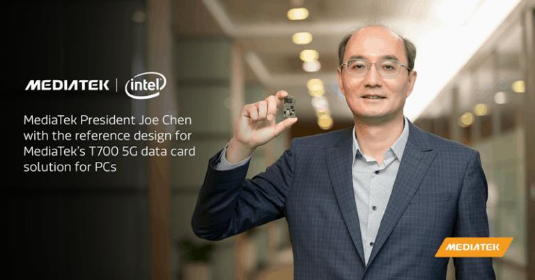 Bareng Intel, MediaTek akan Bawa Teknologi 5G untuk PC