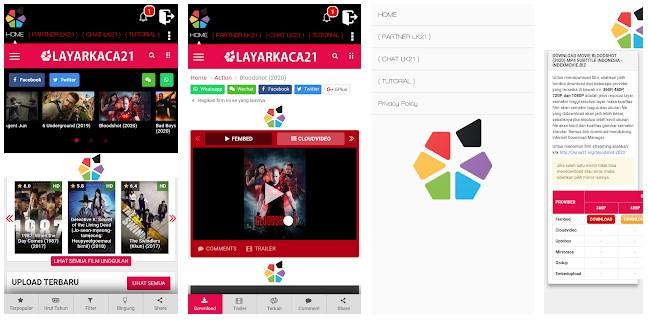 Aplikasi Layarkaca21 Play Store