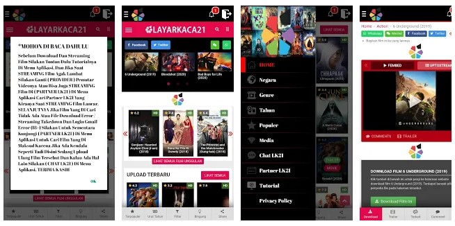 Aplikasi LK21 Play Store