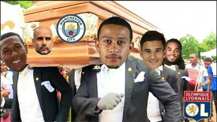 Meme Manchester City Lyon