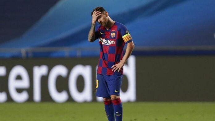 Messi Hengkang Barcelona