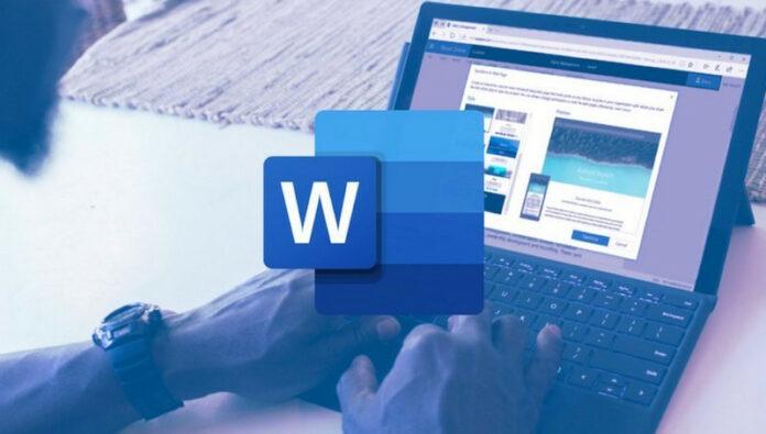 Microsoft Word Transkrip suara