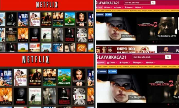 LK21 vs Netflix