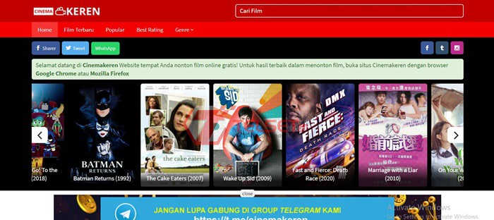 Cinema Keren IndXXI Rebahin LK21