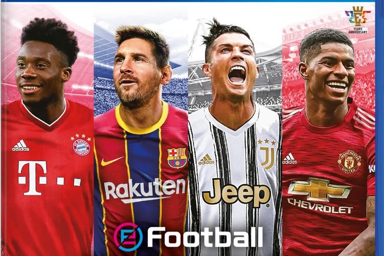 Tenang, Lionel Messi Masih Berseragam Barcelona…. di PES 2021