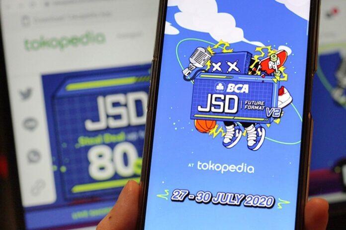 Penjualan Tokopedia JSD