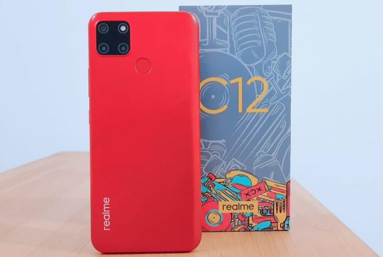 Redmi 9C Realme C12