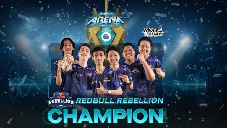 Selamat! Ini Tiga Tim Juara Gopay Arena Championship 2020