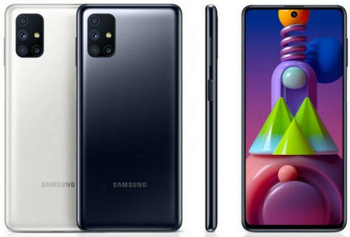 Galaxy M51 baterai 7000 mAh
