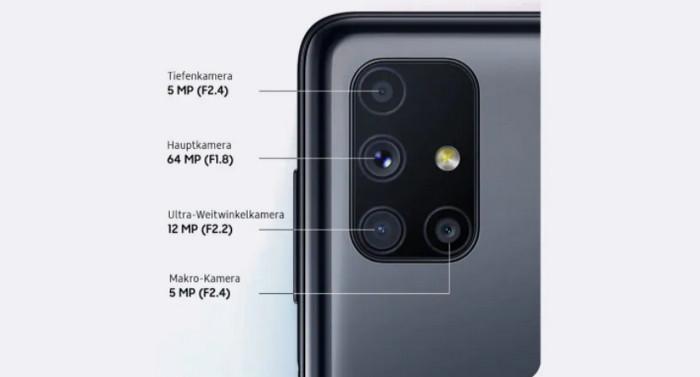 Galaxy M51 baterai 7.000 mAh