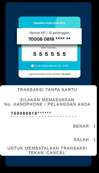 Tarik Tunai GoPay di ATM BCA