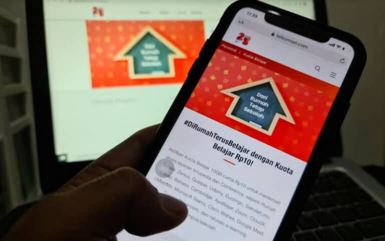 Telkomsel Luncurkan Paket Kuota Belajar Rp 10, Dapat 10GB
