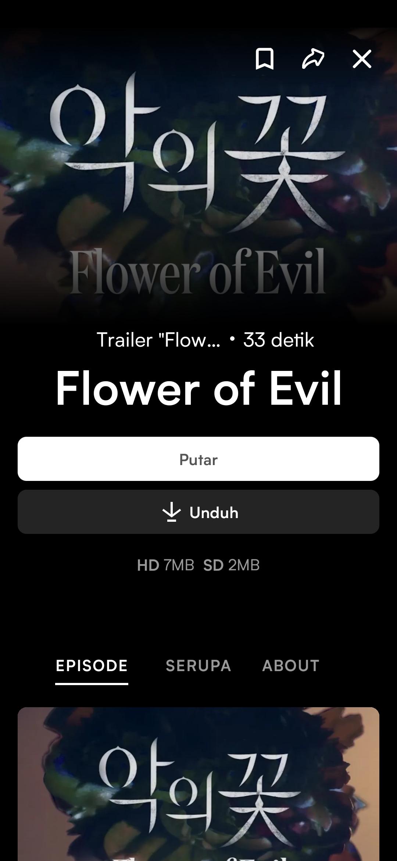 Flower of Evil Viu