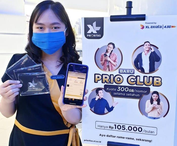 XL Axiata Hadirkan PRIO Club dengan Kuota 300 GB