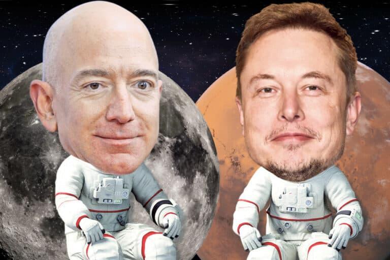 Rencana Bezos dan Musk Menjajah Antariksa Sama Gilanya
