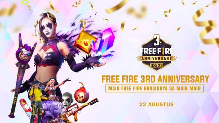 Rayakan Anniversary, Garena Free Fire Siapkan Banyak Kejutan