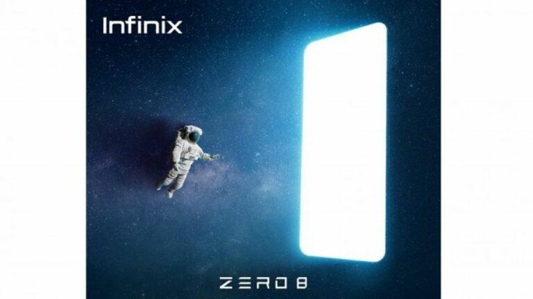 Infinix Zero 8 Segera Tiba di Indonesia, Andalkan MediaTek G90T