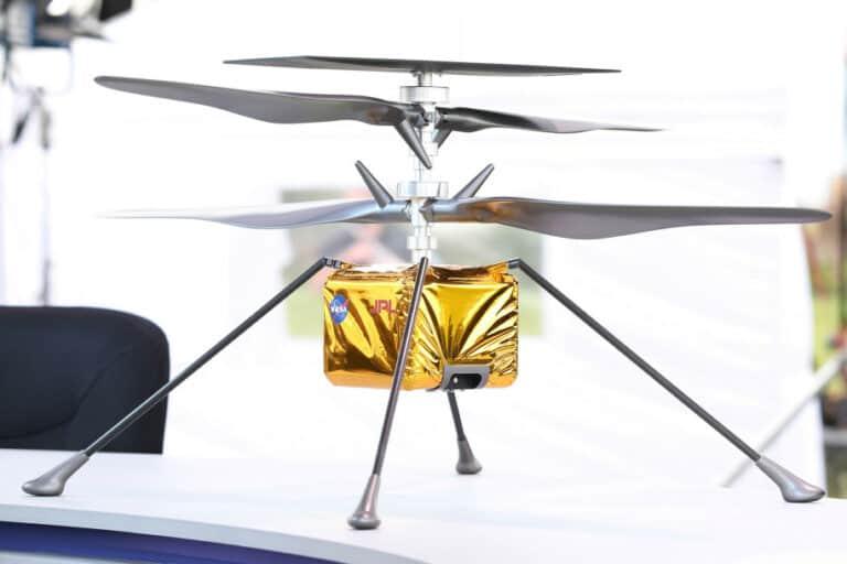 Helikopter untuk Misi Mars, Ingenuity Berhasil Cetak Sejarah