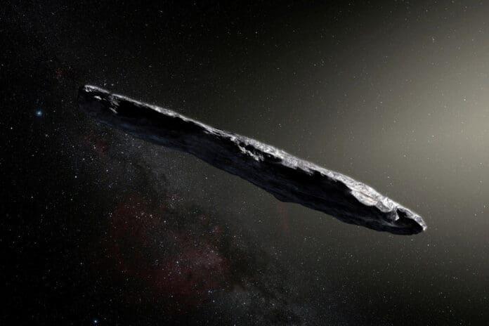 Objek antarbintang Oumuamua