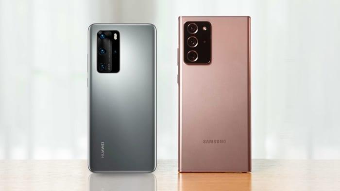 Compare: Samsung Galaxy Note 20 Ultra vs S20+ vs Huawei P40 Pro
