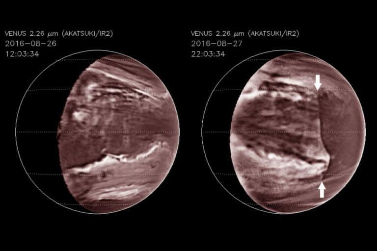Tsunami Beracun Seukuran Inggris Raya Lintasi Planet Venus