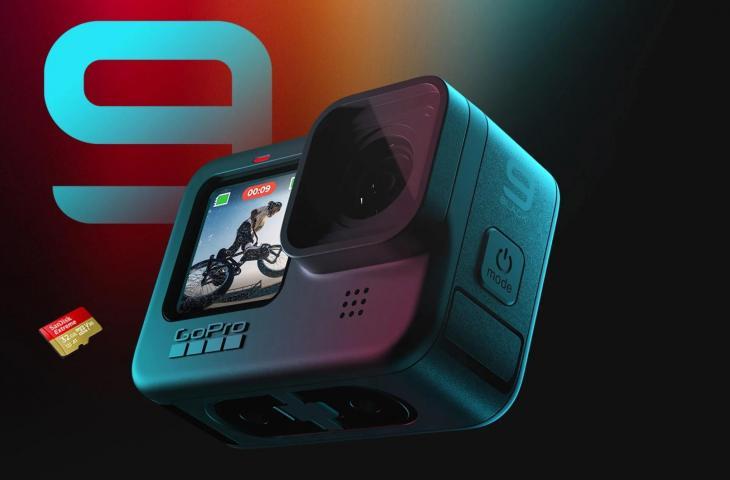GoPro Hero9 Black Dirilis, Sanggup Rekam Video 5K