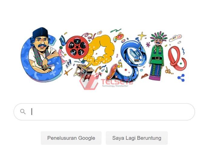 Benyamin Sueb Google Doodle
