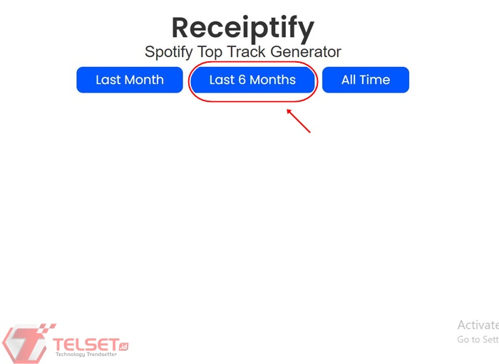 Cara Bikin Receiptify Spotify