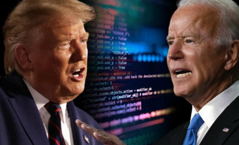 Troll Internet Arahkan Situs Aneh Serang Situs Trump dan Biden