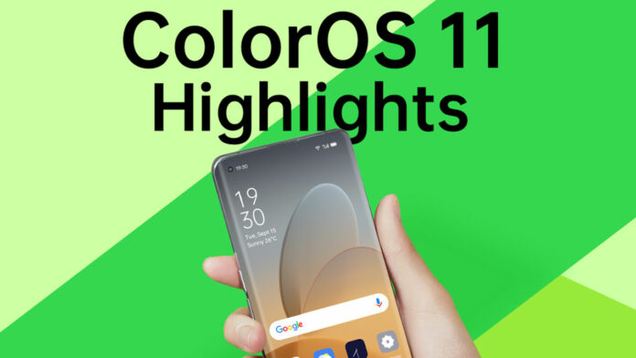 Fitur ColorOS 11 Android 11