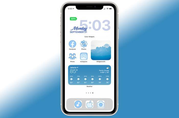 Cara Mengganti Tampilan Ikon Homescreen iPhone iOS 14