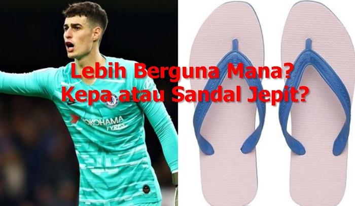 Meme Kepa Chelsea vs Liverpool