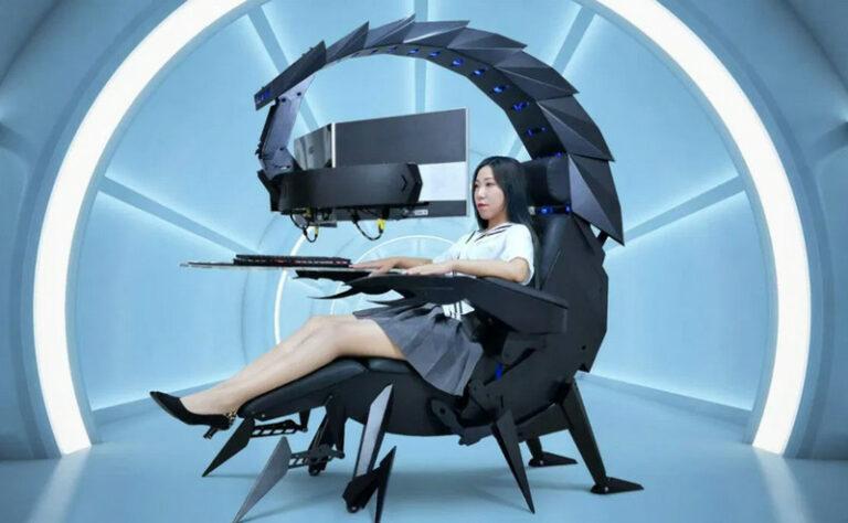 Kursi Gaming Kalajengking, Cocok untuk WFH