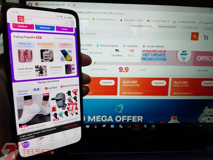 Lazada jadi E-Commerce Favorit untuk Beli Ponsel Baru