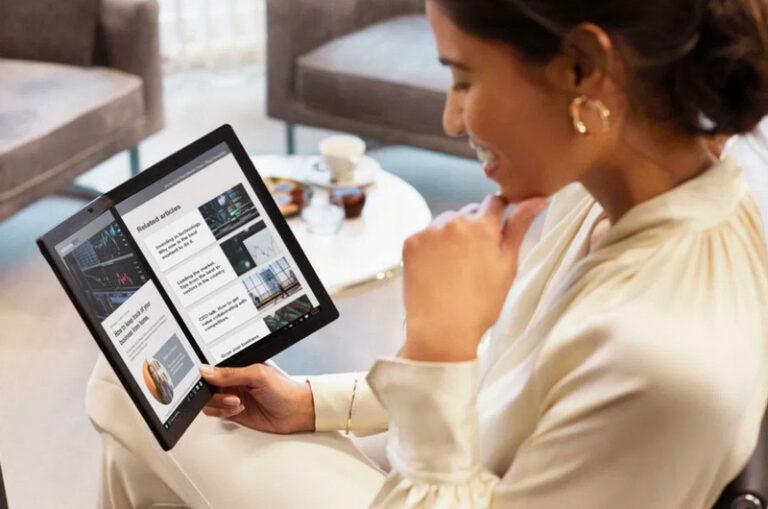 Laptop Layar Lipat Lenovo Thinkpad X1 Fold Sudah Bisa Dipesan