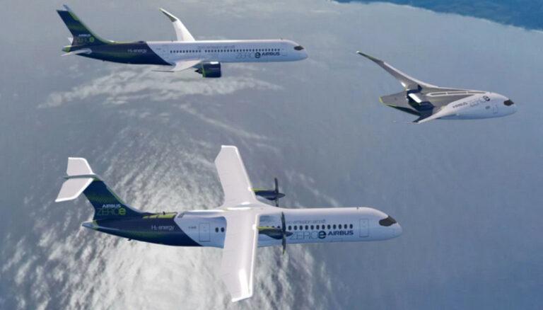 Airbus Perkenalkan Pesawat Tanpa Emisi Berbahan Bakar Hidrogen
