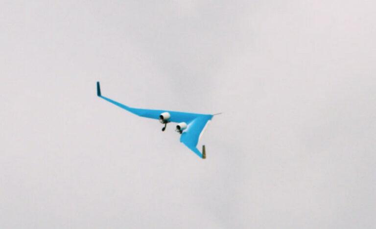 Penumpang Pesawat Futuristik Model V Ini Duduknya di Sayap