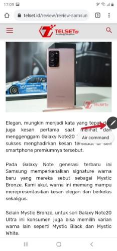 S Pen Samsung Galaxy Note 20